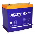 GEL аккумулятор DELTA GX 12-55