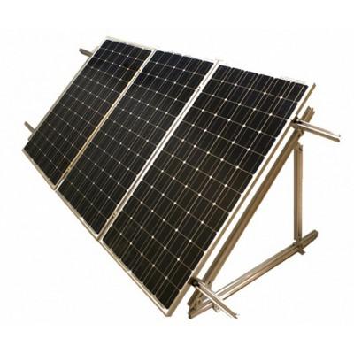 Комплект креплений для 3 солнечных батарей (регулируемый угол наклона)