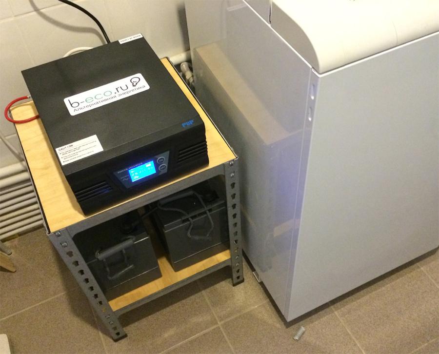 Резервная система для газового котла