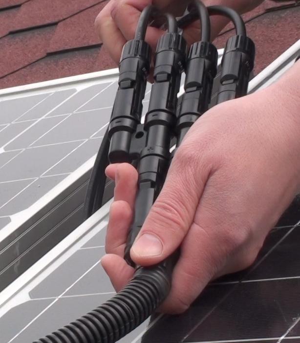 Подключение солнечных батарей 150Вт
